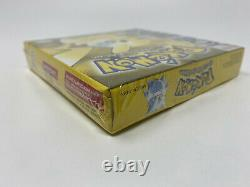 Pokemon Yellow Version Special Pikachu Edition (Game Boy) BRAND NEW SEALED
