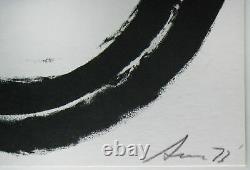 Richard Serra Signed Numbered Iconic Framed 73 Lithograph Limited Edition JKLFA