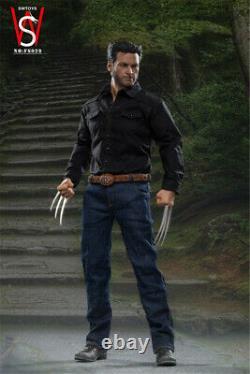 SWTOYS 1/6 FS029 Hugh Jackman Wolverine Logan Action Figure Young Version