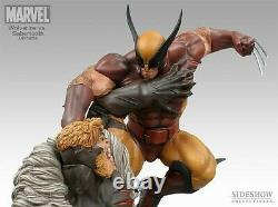 Sideshow Wolverine Vs Sabretooth Limited Edition Diorama Statue X-Men NEW