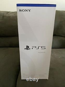 Sony PS5 PlayStation 5 Blu-Ray Disc EditionBRAND NEW IN HAND SHIPS IMMEDIATELY