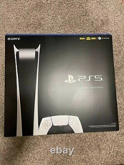 Sony PS5 PlayStation 5 Digital Edition BRAND NEW IN HAND SHIPS NOW