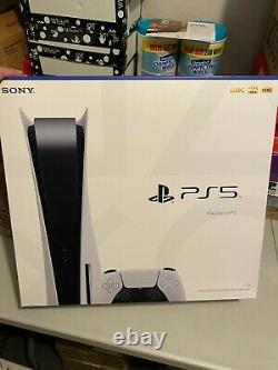 Sony PlayStation 5 Console DISC VERSION BRAND NEW SEALED SHIPS WITHIN 72HRS