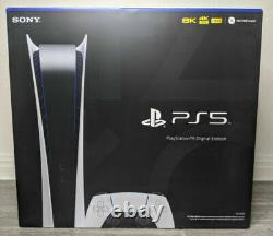 Sony PlayStation 5 Console Digital Version PS5 BRAND NEW