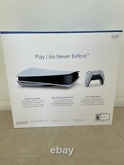 Sony PlayStation 5 Console Disc Version (PS5) Brand New SHIPS OVERNIGHT AIR