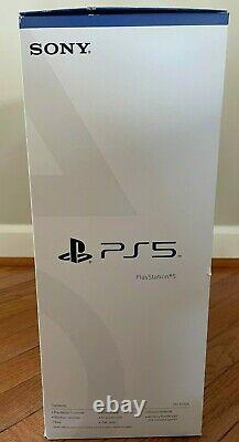 Sony PlayStation 5 Console Disc Version (PS5) Brand Newith Sealed FREE Ship