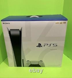 Sony PlayStation 5 Console (Disc Version) White PS5 in-hand BRAND NEW