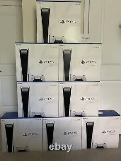 Sony PlayStation 5 PS5 Console Disc Version BRAND NEW IN HAND FREE UPS SHIP