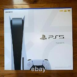 Sony PlayStation 5 PS5 Standard Console Disc Version Blu Ray IN HAND BRAND NEW