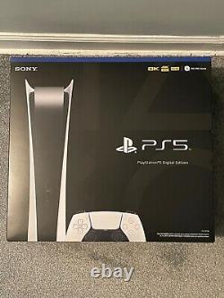 Sony PlayStation PS5 DIGITAL EDITION BRAND NEW IN HAND SHIPS NOW