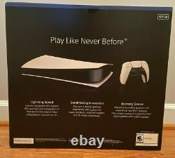Sony Playstation PS5 DIGITAL EDITION BRAND NEW IN HAND SHIPS FEDEX