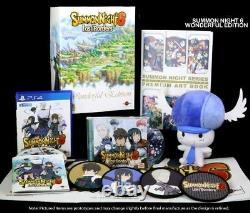 Summon Night 6 Lost Borders Wonderful Edition PlayStation 4, PS4 Brand New