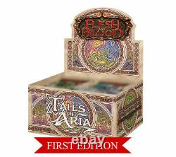 Tales of Aria 1st Edition Booster Box Flesh and Blood TCG Brand New