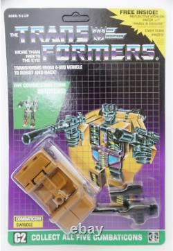 Transformers G1 Carded Bruticus brand new Gift metal version shipped by Speedpak