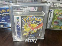 VGA 70 Pokemon Gold Version Factory Sealed Gameboy Color Game Boy Brand New