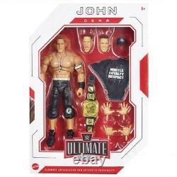 WWE John Cena Ultimate Edition Series 10 Brand New Figure