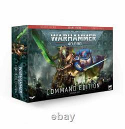 Warhammer 40,000 Command Edition Warhammer 40k Box Set Brand New! 40-05