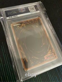 Yugioh Red Eyes Black Dragon 1st Edition LOB-070 PSA 10 GEM MINT
